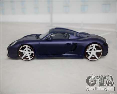 Ruf CTR 3 2015 для GTA San Andreas вид слева