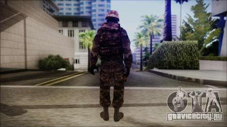 Chinese Army Desert Camo 1 для GTA San Andreas третий скриншот