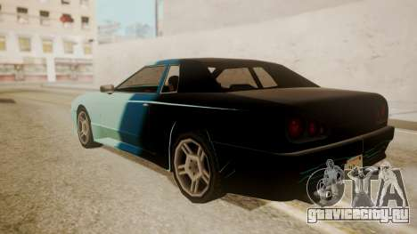 Elegy FnF Skins для GTA San Andreas вид снизу