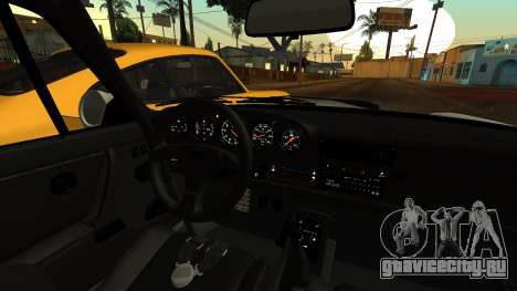 RUF CTR Yellowbird (911) 1987 HQLM для GTA San Andreas вид справа