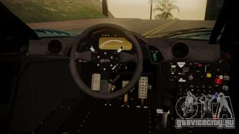 McLaren F1 GTR 1998 Gulf Team для GTA San Andreas вид справа
