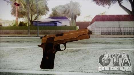 Original Colt 45 HD для GTA San Andreas второй скриншот