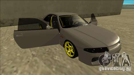 Nissan Skyline R33 Drift для GTA San Andreas двигатель