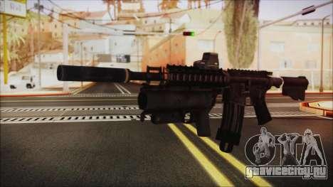 M4 SpecOps для GTA San Andreas