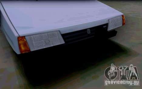 Ваз 2108 V2 для GTA San Andreas вид сбоку