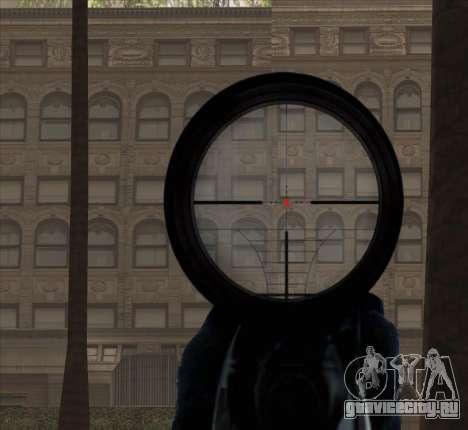 Sniper Scope v2 для GTA San Andreas восьмой скриншот