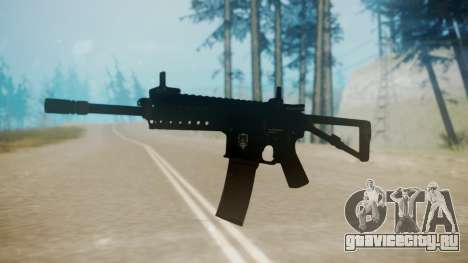 KAC PDW для GTA San Andreas второй скриншот