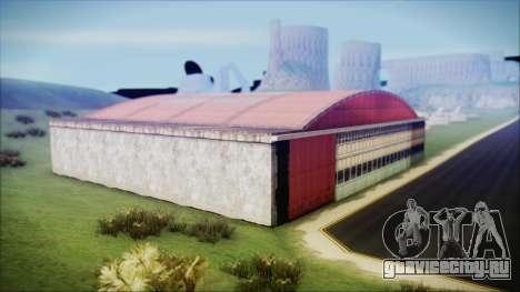 HD Desert Hangar Mipmapped для GTA San Andreas