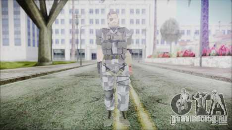MGSV Phantom Pain Snake Normal Animals для GTA San Andreas второй скриншот