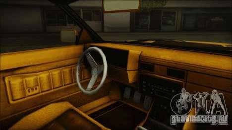 GTA 5 Willard Faction Custom Bobble Version IVF для GTA San Andreas вид справа