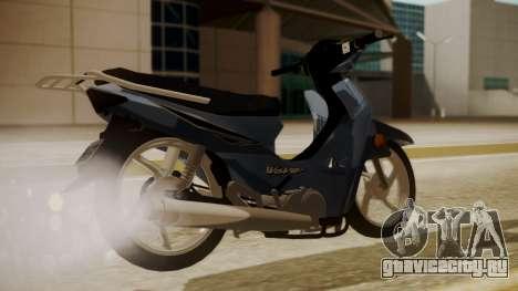 Honda Wave для GTA San Andreas вид слева