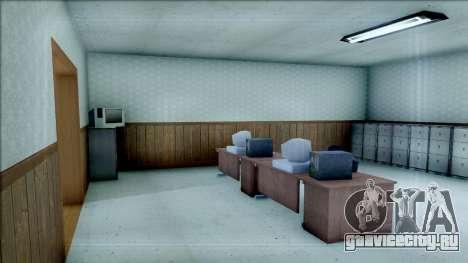 New Interior for SFPD для GTA San Andreas третий скриншот