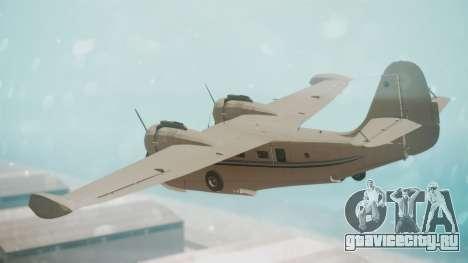 Grumman G-21 Goose WhiteBlueLines для GTA San Andreas вид слева