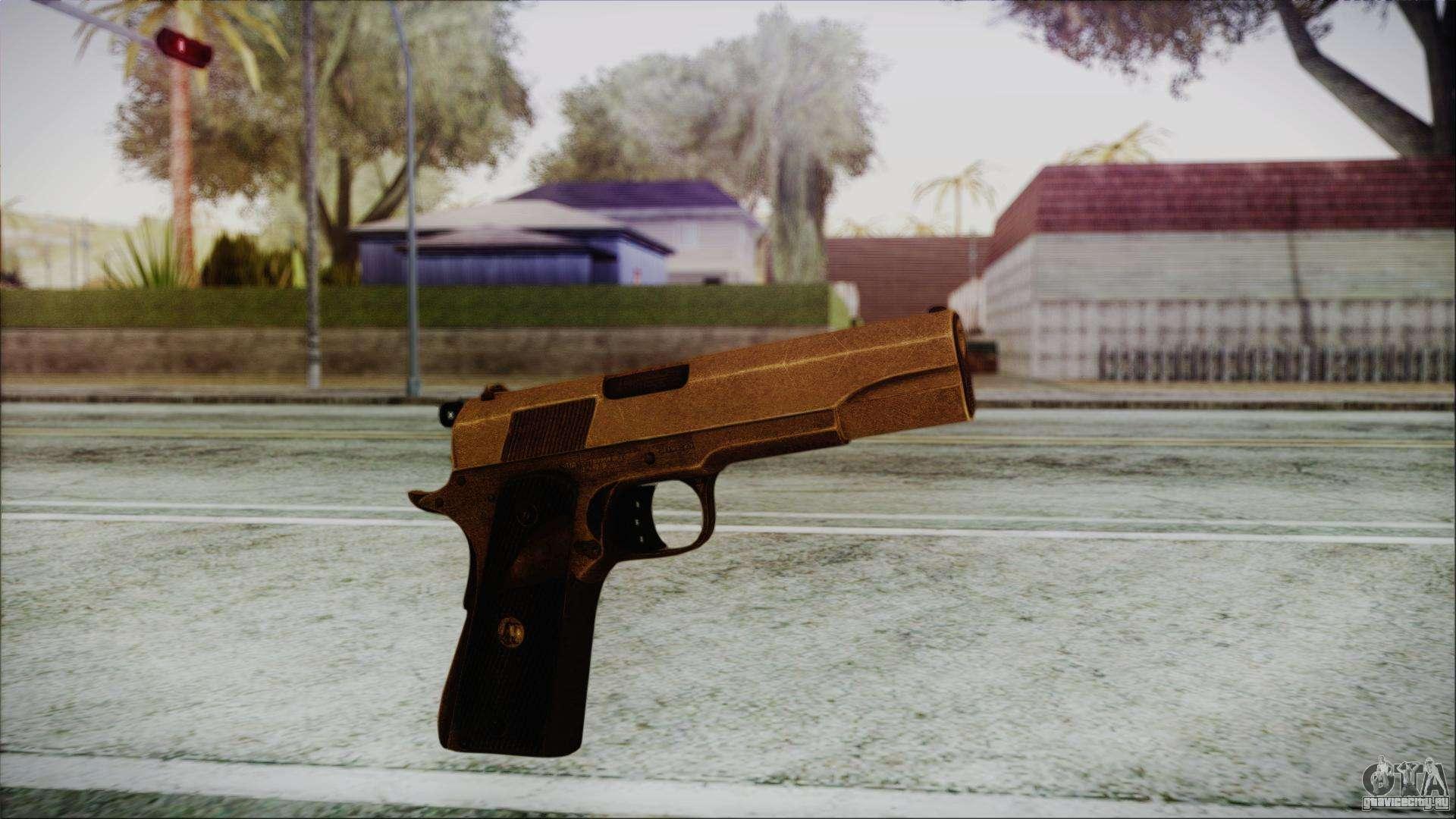 Colt45 для gta san andreas