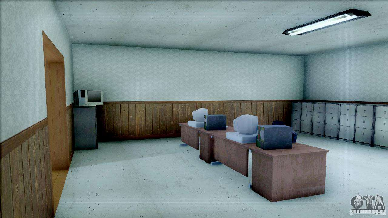 New Interior For Sfpd Dlya Gta San Andreas