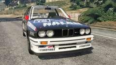 BMW M3 (E30) 1991 [Nalan] v1.2 для GTA 5