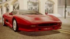 Jaguar XJ220 1992 HQLM для GTA San Andreas