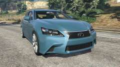 Lexus GS 350 F-Sport 2013 для GTA 5