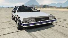 DeLorean DMC-12 Back To The Future для GTA 5