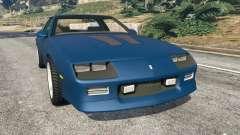 Chevrolet Camaro IROC-Z [Beta 3] для GTA 5