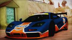 McLaren F1 GTR 1996 Gulf (GoodWood 2008) для GTA San Andreas