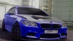 BMW M5 F10 Top Service MSK для GTA San Andreas