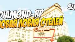 Ловля отелей для Diamond RolePlay для GTA San Andreas