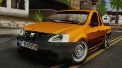 Dacia Logan Pickup 6x6 для GTA San Andreas