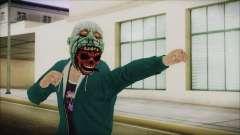 DLC Halloween GTA 5 ZombieCraneo для GTA San Andreas