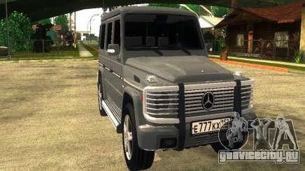 Mercedes-Benz G500 внедорожник для GTA San Andreas