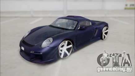 Ruf CTR 3 2015 для GTA San Andreas