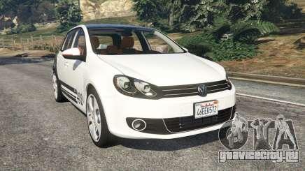 Volkswagen Golf Mk6 v2.0 [ABT] для GTA 5