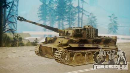 Panzerkampfwagen VI Tiger Ausf. H1 для GTA San Andreas