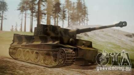 Panzerkampfwagen VI Tiger Ausf. H1 No Interior для GTA San Andreas