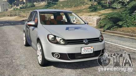 Volkswagen Golf Mk6 v2.0 [WRC Polo] для GTA 5
