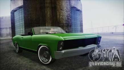 GTA 5 Albany Buccaneer Hydra Version IVF для GTA San Andreas