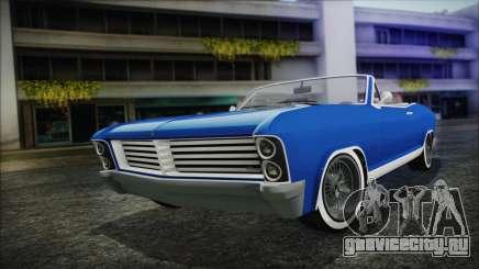 GTA 5 Albany Buccaneer Hydra Version для GTA San Andreas