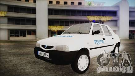 Dacia Solenza Politia для GTA San Andreas