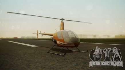 Robinson R-22 de Seguridad Vial для GTA San Andreas