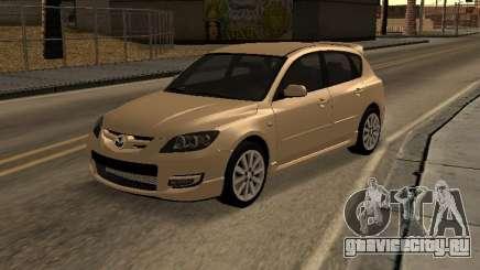 Mazda 3 MPS Tunable для GTA San Andreas