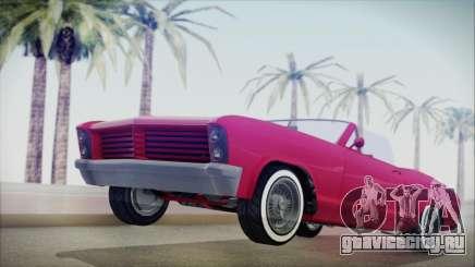 GTA 5 Albany Buccaneer Custom IVF для GTA San Andreas