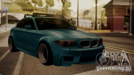 BMW 1M E82 with Sunroof для GTA San Andreas