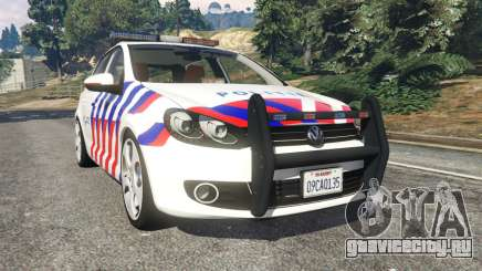 Volkswagen Golf Mk6 Dutch Police для GTA 5