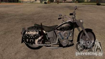 Harley Davidson Fat Boy Sons Of Anarchy для GTA San Andreas