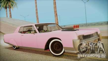 GTA 5 Vapid Chino Hydraulic Version для GTA San Andreas