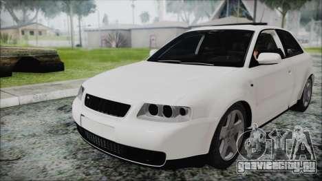 Audi A3 1.8 S3 для GTA San Andreas вид справа