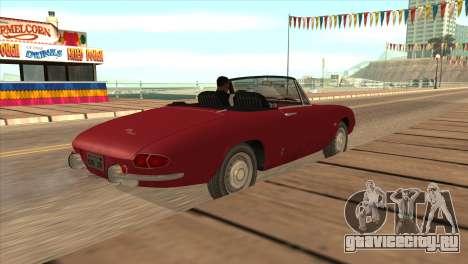 1966 Alfa Romeo Spider Duetto [IVF] для GTA San Andreas вид слева
