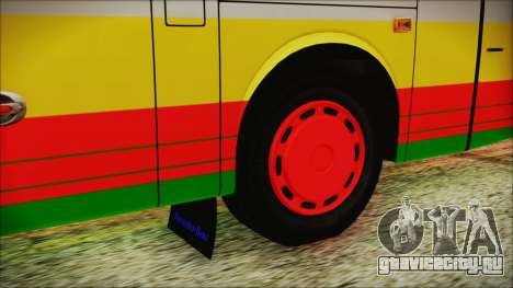 Bus Pt.BARUMUN Sibuhuan для GTA San Andreas вид сзади слева