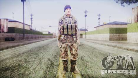 World In Conflict Malashenko Winter для GTA San Andreas второй скриншот