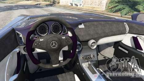 Mercedes-Benz SLR McLaren Stirling Moss для GTA 5
